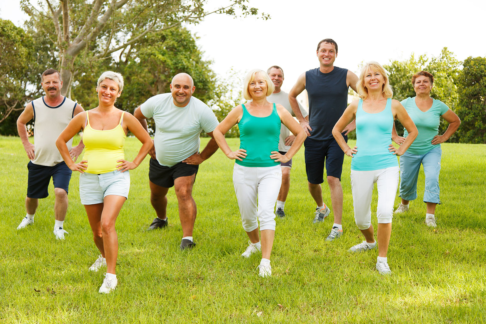 Group Fitness Training for all Ages